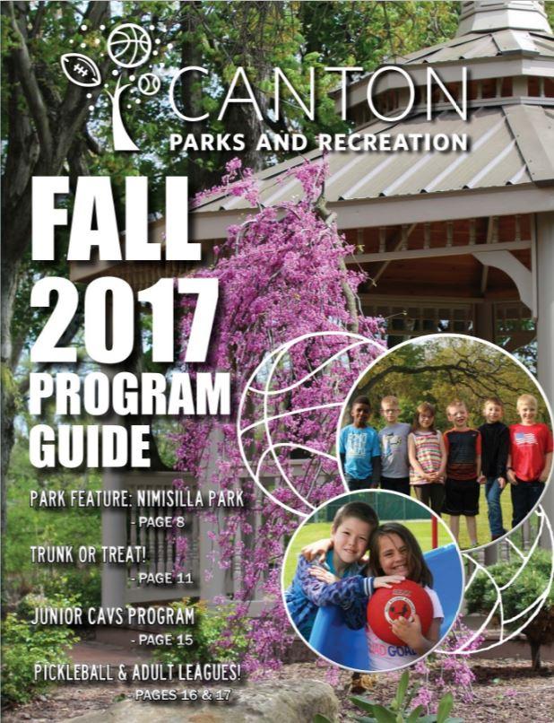 Fall program guide photo