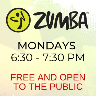 ZUMBA MONDAY FREE